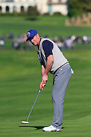 Wayne Gretzky (CAN) putts on the 6th green at Pebble Beach Golf Links during Saturday's Round 3 of the 2017 AT&amp;T Pebble Beach Pro-Am held over 3 courses, Pebble Beach, Spyglass Hill and Monterey Penninsula Country Club, Monterey, California, USA. 11th February 2017.<br /> Picture: Eoin Clarke | Golffile<br /> <br /> <br /> All photos usage must carry mandatory copyright credit (&copy; Golffile | Eoin Clarke)