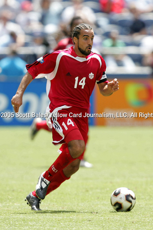 9 July 2005: Canada's Dwayne DeRosario. The United States defeated Canada 2-0 at Qwest Field in Seattle, Washington in a Gold Cup first round match..