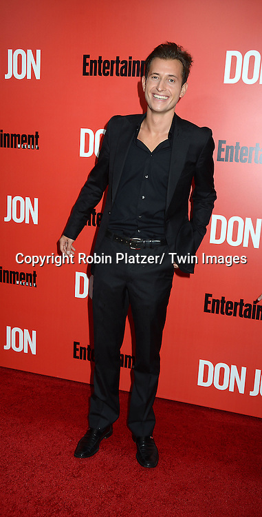 "Peter Cincotti attends the ""Don Jon"" New York Movie Premiere on September 12, 2013 at the SVA Theatre in New York City."