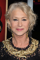 "November 20, 2012 - Beverly Hills, California - Helen Mirren at the ""Hitchcock"" Los Angeles Premiere held at the Academy of Motion Picture Arts and Sciences Samuel Goldwyn Theater. Photo Credit: Colin/Starlite/MediaPunch Inc"