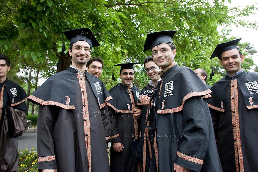 Student at the University of Tehran, Iran May 6, 2007