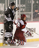 Nolan Julseth-White (Union - 2), Danny Biega (Harvard - 9) - The Union College Dutchmen defeated the Harvard University Crimson 2-0 on Friday, January 13, 2011, at Fenway Park in Boston, Massachusetts.