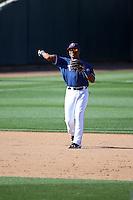 Josh Morgan - Texas Rangers 2016 spring training (Bill Mitchell)
