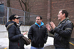Guiding Light Robert Bogue and Mandy Bruno wrote the screen play for Rock Story along with Kenneth Del Vecchio (lead writer and producer) being filmed in Middletown, New York in January in various locations with featuring at the Hoboken International Film Festival  May 30, 2014 in Middletown, NY. (Photo by Sue Coflin/Max Photos)