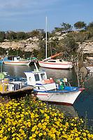 CYPRUS, Potamos tou Liopetriou: romantic fishing harbour near Ayia Napa (Agia Napa)<br />