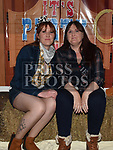 Paula and Julie McArdle at the Boyne Fishermans barn dance in the Westcourt hotel. Photo:Colin Bell/pressphotos.ie