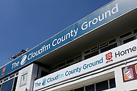 Blue skies over the ground ahead of Essex CCC vs Somerset CCC, Specsavers County Championship Division 1 Cricket at The Cloudfm County Ground on 25th June 2018