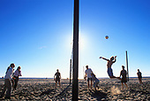 Beach Volleyball, Santa Monica Beach, California (LA)