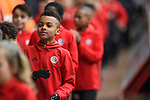 Sheffield United academy players during half-time of the Championship league match at Bramall Lane Stadium, Sheffield. Picture date 28th April, 2018. Picture credit should read: Harry Marshall/Sportimage
