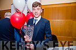Overall Winner Brendan Coppinger, Killarney at the Lee Strand Kerry Garda Youth Achievement Awards 2016 in Ballyroe Hotel on Friday