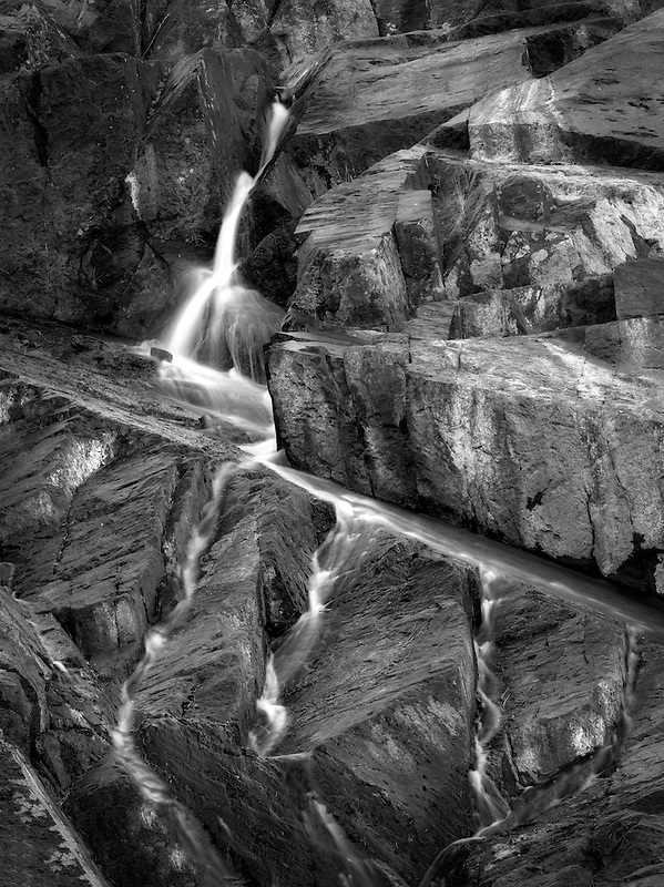 Waterfall on Glen Alpine Creek near Fallen Leaf Lake. California