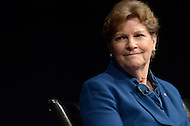 Washington, DC - February 11, 2015: U.S. Senator Jeanne Shaheen participates in a panel discussion about the significance of the new Hampshire primary held at the Newseum in the District of Columbia, February 11, 2015.  (Photo by Don Baxter/Media Images International)