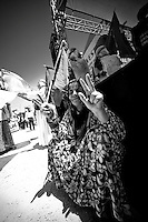 Femme kurde, mère de martyr, lors de la manifestation du 1er mai 2013 à Yenisehir.<br /> <br /> Kurdish mother of martyr during the demonstration on 1 May 2013 Yenisehir.