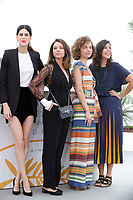 Luiza Mariani, Bruna Linzmeyer, Marina Provenzano and Flora Diegues attend the photocall for 'The Great Mystical Circus (O Grande Circo Mistico)' during the 71st annual Cannes Film Festival at Palais des Festivals on May 14, 2018 in Cannes, France.<br /> CAP/GOL<br /> &copy;GOL/Capital Pictures