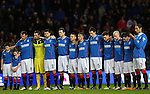 One minutes silence in remembrance of the Clutha Bar crash victims