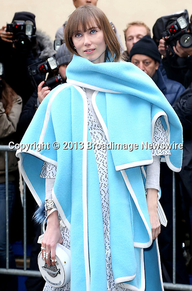 Pictured: Anya Ziourova<br /> Mandatory Credit &copy; AFFR/Broadimage<br /> Christian Dior:  Paris Fashion Week - Haute Couture S/S 2014 - Outside Arrivals<br /> <br /> 1/20/14, Paris, , France<br /> <br /> Broadimage Newswire<br /> Los Angeles 1+  (310) 301-1027<br /> New York      1+  (646) 827-9134<br /> sales@broadimage.com<br /> http://www.broadimage.com<br /> <br /> <br /> Pictured: Anya Ziourova<br /> Mandatory Credit &copy; AFFR/Broadimage<br /> Christian Dior:  Paris Fashion Week - Haute Couture S/S 2014 - Outside Arrivals<br /> <br /> 1/20/14, Paris, , France<br /> Reference: 012014_BDG_AFFR_DF_006<br /> <br /> Broadimage Newswire<br /> Los Angeles 1+  (310) 301-1027<br /> New York      1+  (646) 827-9134<br /> sales@broadimage.com<br /> http://www.broadimage.com