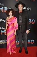 HOLLYWOOD, CA - MARCH 11: R&eacute;gine Chassagne (L) and Win Butler of Arcade Fire attend the premiere of Disney's 'Dumbo' at El Capitan Theatre on March 11, 2019 in Los Angeles, California.<br /> CAP/ROT/TM<br /> &copy;TM/ROT/Capital Pictures