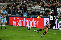 Paulo Dybala of Juventus scores the goal of 1-0 for his side on free kick <br /> Torino 26/11/2019 Juventus Stadium <br /> Football Champions League 2019//2020 <br /> Group Stage Group D <br /> Juventus - Atletico Madrid <br /> Photo Andrea Staccioli / Insidefoto