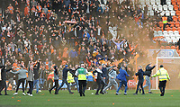Blackpool fans invade the pitch to celebrate their side's late equalising goal to make the score 2-2<br /> <br /> Photographer Kevin Barnes/CameraSport<br /> <br /> The EFL Sky Bet League One - Blackpool v Southend United - Saturday 9th March 2019 - Bloomfield Road - Blackpool<br /> <br /> World Copyright © 2019 CameraSport. All rights reserved. 43 Linden Ave. Countesthorpe. Leicester. England. LE8 5PG - Tel: +44 (0) 116 277 4147 - admin@camerasport.com - www.camerasport.com