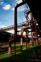 The coking plant at the Zollverein Coal Mine Industrial Complex in Essen (Germany, 02/04/2010)