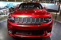 NEW YORK, EUA, 13.04.2017 - AUTOMÓVEL-NEW YORK - Jeep Grand Cherokee Superchargeo é visto durante o New York Internacional Auto Show no Javits Center na cidade de New York nesta quinyta-feira, 13. O evento é aberto ao público do dia 14 à 23 de abril de 2017 . (Foto: Vanessa Carvalho/Brazil Photo Press)