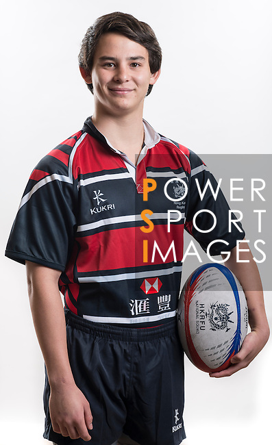 Hong Kong Junior Squad team member Nick Ngan Kee poses during the Official Photo Session Day at King's Park Sports Ground ahead the Junior World Rugby Tournament on 25 March 2014. Photo by Andy Jones / Power Sport Images