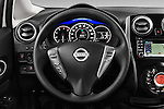 Steering wheel view of a 2013 Nissan NOTE 5 Door Hatchback 2WD