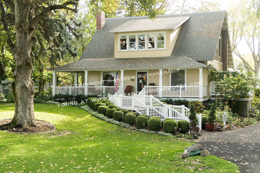An old house transformed into a Bed & Breakfast in small town Washington State