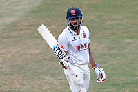 Ravi Bopara of Essex leaves the field having been dismissed for 58 during Essex CCC vs Somerset CCC, Specsavers County Championship Division 1 Cricket at The Cloudfm County Ground on 28th June 2018