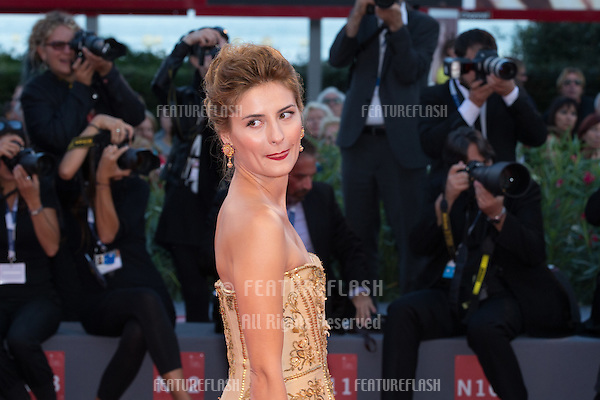 Lidiya Liberman  at the premiere of Blood Of My Blood at the 2015 Venice Film Festival.<br /> September 8, 2015  Venice, Italy<br /> Picture: Kristina Afanasyeva / Featureflash