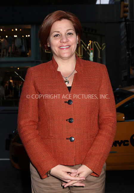 WWW.ACEPIXS.COM....April 17 2013, New York City....Christine Quinn arriving at the HRC Marriage for Equality USA celebration at the Calvin Klein Boutique on April 17, 2013 in New York City.....By Line: Nancy Rivera/ACE Pictures......ACE Pictures, Inc...tel: 646 769 0430..Email: info@acepixs.com..www.acepixs.com