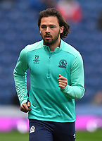 Blackburn Rovers' Bradley Dack<br /> <br /> Photographer Dave Howarth/CameraSport<br /> <br /> The EFL Sky Bet Championship - Blackburn Rovers v Derby County -Tuesday 9th April 2019 - Ewood Park - Blackburn<br /> <br /> World Copyright &copy; 2019 CameraSport. All rights reserved. 43 Linden Ave. Countesthorpe. Leicester. England. LE8 5PG - Tel: +44 (0) 116 277 4147 - admin@camerasport.com - www.camerasport.com