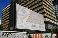 SÃO PAULO, SP, 09.08.2019 - TRANSPORTE-SP - Canteiro de obras da linha 6-laranja do Metrô, na Rua da Consolação, nesta sexta-feira, 9. O governo de São Paulo e a CR20, subsidiária da gigante de infraestrutura China Railway Construction Corporation (CRCC) assinaram um protocolo de intenções para participar da licitação da linha 6-Laranja de metrô. (Foto Charles Sholl/Brazil Photo Press/Folhapress)