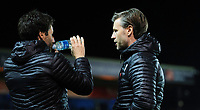 Lincoln City manager Danny Cowley, left, Lincoln City's assistant manager Nicky Cowley<br /> <br /> Photographer Chris Vaughan/CameraSport<br /> <br /> The EFL Sky Bet League Two - Lincoln City v Yeovil Town - Friday 8th March 2019 - Sincil Bank - Lincoln<br /> <br /> World Copyright © 2019 CameraSport. All rights reserved. 43 Linden Ave. Countesthorpe. Leicester. England. LE8 5PG - Tel: +44 (0) 116 277 4147 - admin@camerasport.com - www.camerasport.com