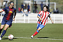 "Mitsue Iwakura at Spanish ""Liga Espanola Femenina"" Match Between Atletico de Madrid Feminas and Barc"