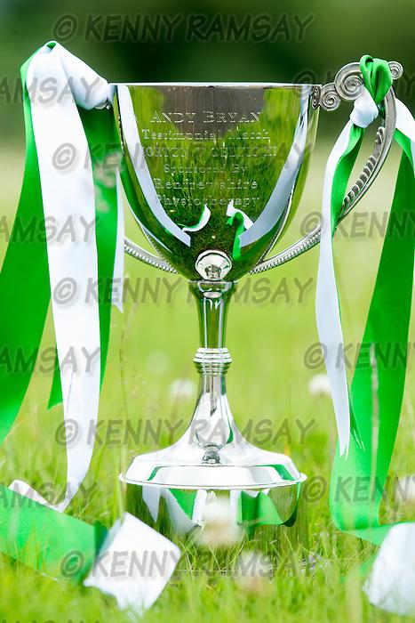13.07.2015  Greenock Morton v Celtic, Andy Bryan Testimonial match  .........................   CELTIC WIN THE ANDY BRYAN TROPHY