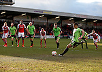 Che Adams of Sheffield Utd scores from the penalty spot - English League One - Fleetwood Town vs Sheffield Utd - Highbury Stadium - Fleetwood - England - 5rd March 2016 - Picture Simon Bellis/Sportimage