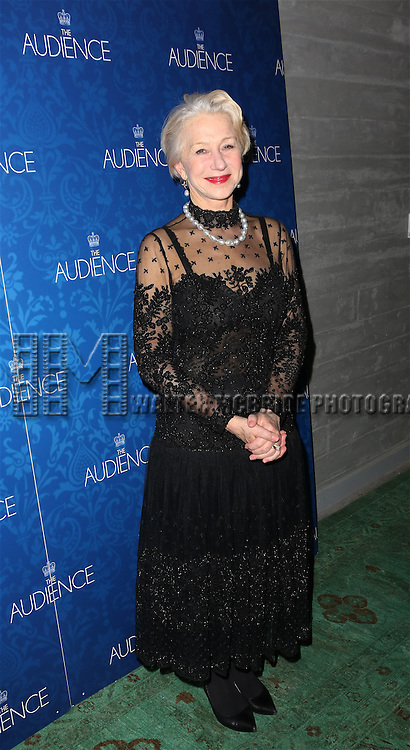 Helen Mirren attends the opening night after party for the Broadway Opening of 'The Audience' at Urbo NYC on March 8, 2015 in New York City.