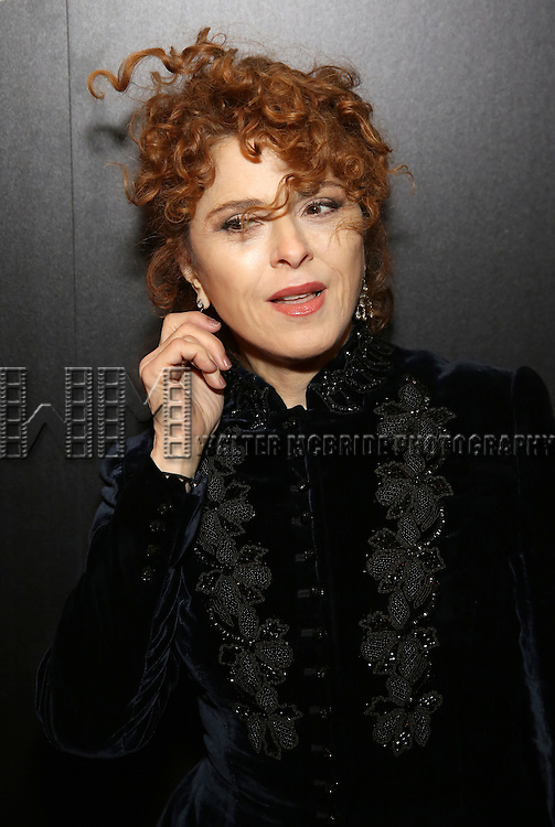 Bernadette Peters attends the Broadway Opening Night of Sunset Boulevard' at the Palace Theatre Theatre on February 9, 2017 in New York City.