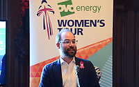 Picture by SWpix.com - 07/03/2018 - Cycling - 2018 OVO Energy Women's Tour Launch - Westminster, London, England -<br />  Chris Houghton (OVO Energy)