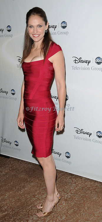 Amy Brenneman arriving at the Disney ABC Television Group All Star Party, that was held at the Beverly Hilton Hotel, Beverly Hills, Ca. July 17, 2008. Fitzroy Barrett