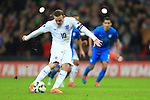 Wayne Rooney of England scores from the penalty spot - England vs. Slovenia - UEFA Euro 2016 Qualifying - Wembley Stadium - London - 15/11/2014 Pic Philip Oldham/Sportimage