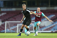 Dan Osborne of TOWIE in action West Ham United supporters say farewell to the Boleyn ground playing a friendly match on the pitch at the Boleyn Ground, London, England on 20 May 2016. Photo by Andy Rowland.