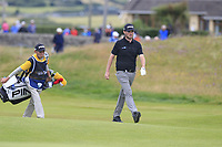 Cormac Sharvin (NIR) walks to the 17th green during Saturday's Round 3 of the Dubai Duty Free Irish Open 2019, held at Lahinch Golf Club, Lahinch, Ireland. 6th July 2019.<br /> Picture: Eoin Clarke | Golffile<br /> <br /> <br /> All photos usage must carry mandatory copyright credit (© Golffile | Eoin Clarke)