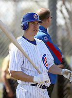 Matt Camp. Chicago Cubs spring training workouts at Fitch Park complex, Mesa, AZ - 03/01/2010.Photo by:  Bill Mitchell/Four Seam Images.