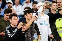 Asian Supporters during La Liga match between Real Madrid and Athletic Club at Santiago Bernabeu Stadium in Madrid. April 19, 2017. (ALTERPHOTOS/Borja B.Hojas) /NortePhoto.com