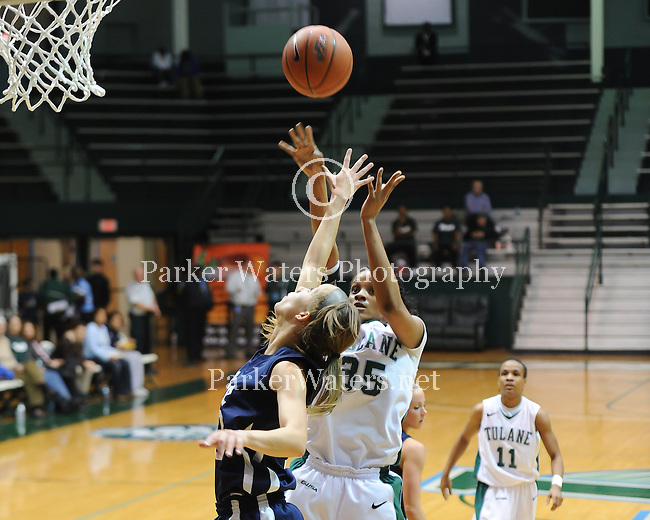 Tulane women's basketball falls to Rice, 74-70, in overtime during C-USA action at Fogelman Arena.