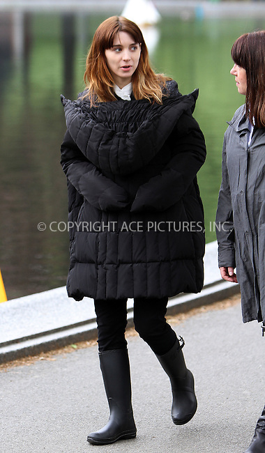 WWW.ACEPIXS.COM . . . . .  ....April 26 2012, New York City....Actress Rooney Mara was on the Central Park set of the new movie 'The Bitter Pill' on April 26 2012 in New York City....Please byline: Zelig Shaul - ACE PICTURES.... *** ***..Ace Pictures, Inc:  ..Philip Vaughan (212) 243-8787 or (646) 769 0430..e-mail: info@acepixs.com..web: http://www.acepixs.com