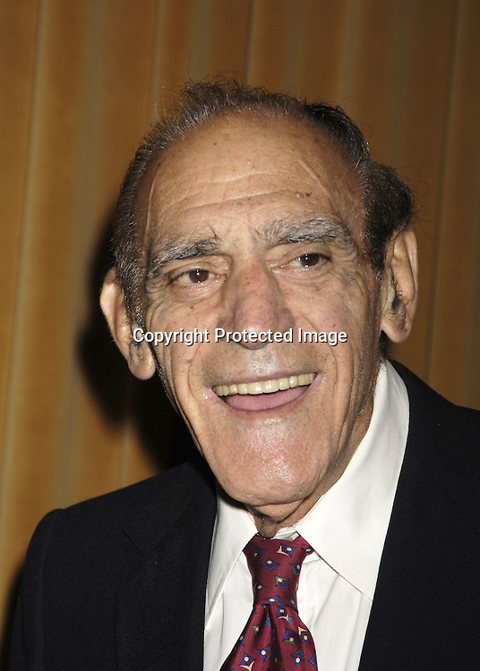 Abe Vigoda ..at The Motion Picture Club's 65th Annual Awards and Installation Luncheon on October 6, 2005 at The New York Marriott Marquis Hotel. Matthew Broderick, Rachel Weisz, Ang Lee, Patrick Wilson and Michelle Williams were honored...Photo by Robin Platzer, Twin Images