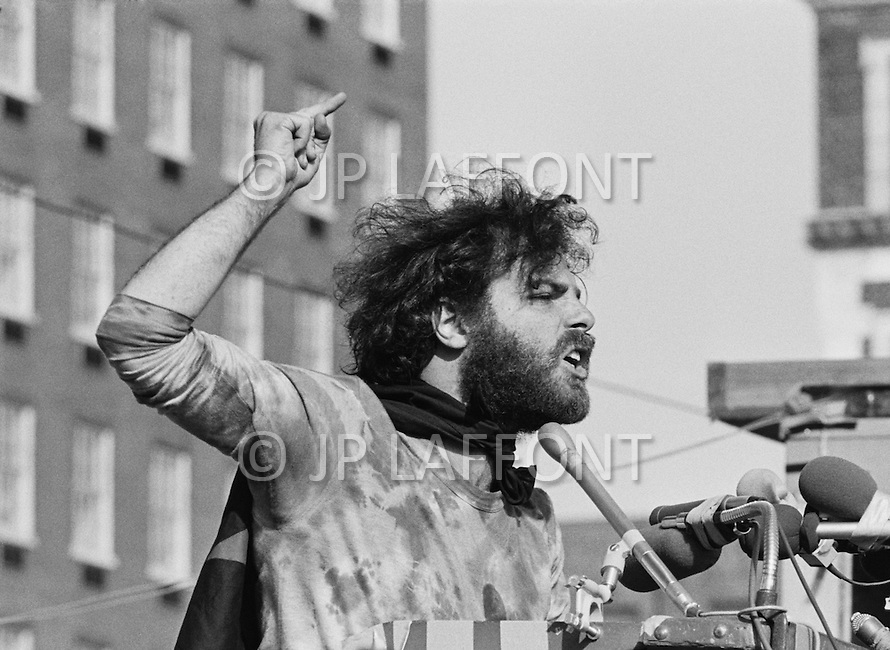 New Haven, CT. May 2nd 1970 Yale University.<br />